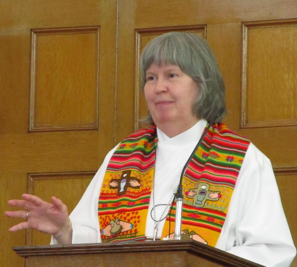 Rev. Florence Eddins, Pastor